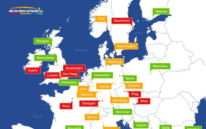40 Städtereiseziele im Sightseeing-Check