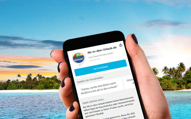 """""""Alexa, frage ab-in-den-urlaub nach Reiseangeboten für Kreta"""""""