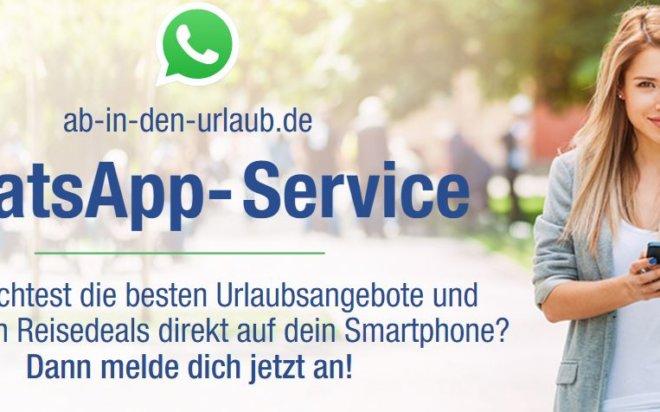 Ab-in-den-urlaub.de launcht WhatsApp-Service